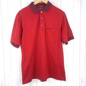 Grand Slam Performance Vintage Red Polo Shirt